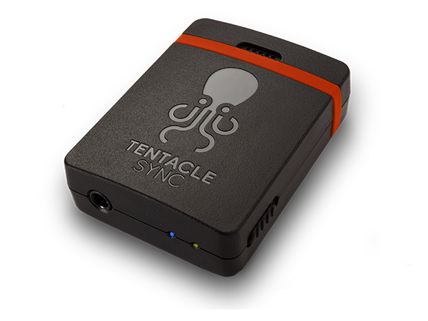 This is the picture of our brand new Tentacle Sync E - Smart Timecode Generator with Bluetooth Connectivity - Syncing Simplicity