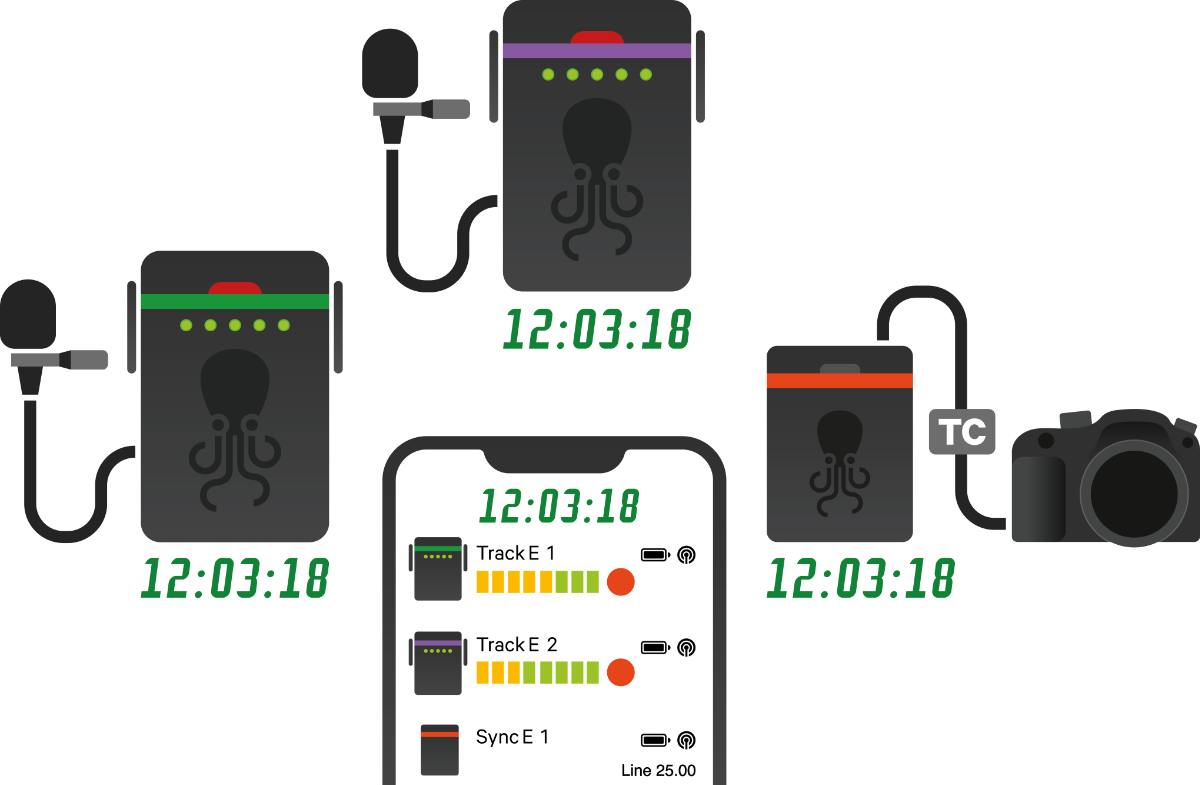 Infographic Tentacle Sync - Setup App